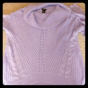 Womens lilac sweater